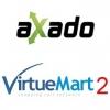 Plugin Axado Cotação de Fretes para VirtueMart 2 - 1 licença