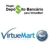 Plugin Depósito Bancário 2.0 para VirtueMart - 1 licença